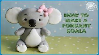 How To...Fondant Koala Bear Tutorial