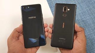 Oppo RealME 1 vs Nokia 7 Plus Speed Test !