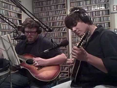 """""""Strange Years"""" Live Acoustic Cover on """"The Kitchen"""" KANM Student Radio"""