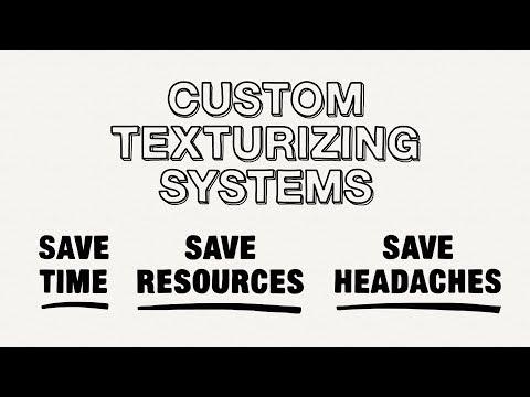 Sistemas de texturización personalizados