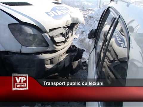 Transport public cu leziuni