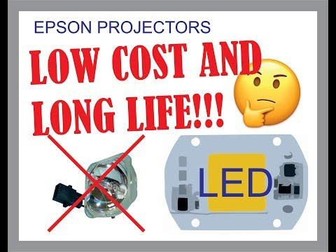 Cómo modificar el proyector LCD EPSON POWERLITE con LED: Parte 1