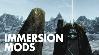 The Best Skyrim Immersion Mods • 2015