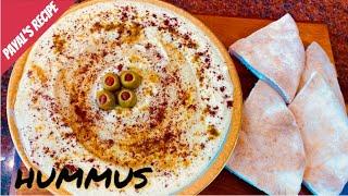 Hummus Recipe | Mediterranean Diet Recipes | Chickpeas Humus | Vegan Tahini | What I Eat In A Week