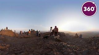See Edinburgh from the Summit of Arthur's Seat | 360 Video