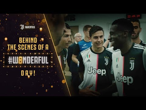 Behind the scenes of Juventus' #W8NDERFUL day!