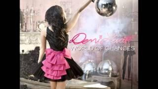 "Demi Lovato ""World of Chances""  AUDIO"