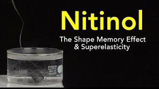 Nitinol: The Shape Memory Effect and Superelasticity