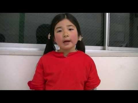 【七田チャイルドアカデミー なんば教室】小学校1年生藪下れんちゃんのスピーチ
