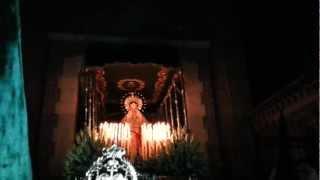 preview picture of video 'Semana Santa Villarrubia de los Ojos 2013. Salida Virgen de la Esperanza'