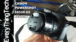 Canon Powershot SX530 HS Review!