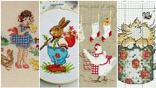 Most Beautiful Counted Cross Stitches Pattern Awesome Ideas