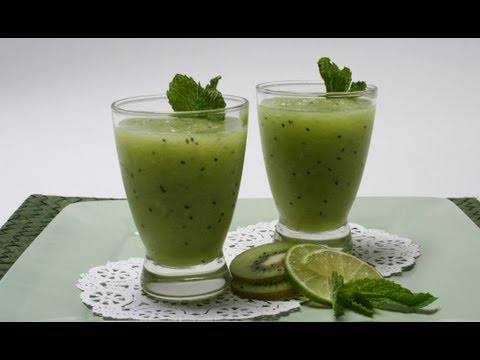 Video KIWIFRUIT SMOOTHIE