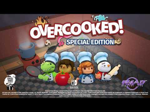 Overcooked: Special Edition Launch Trailer thumbnail