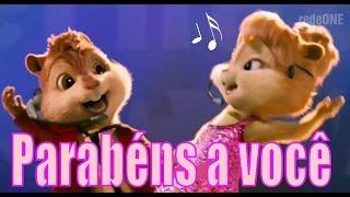 ► Alvin E Os Esquilos   Chipmunks   Parabéns Pra Você   Feliz Aniversário  ◄