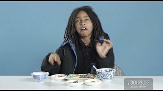 Дети Пробуют Завтраки Со Всего Мира!