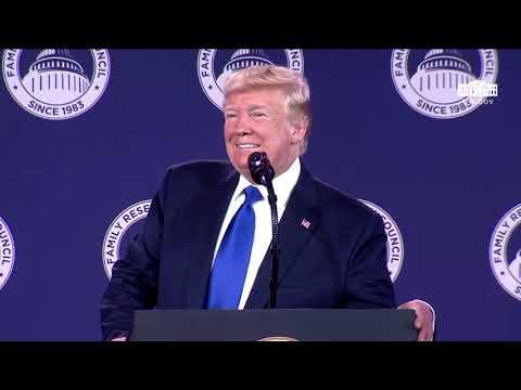 Speech: Donald Trump Addresses the Value Voters Summit in Washington - October 12, 2019