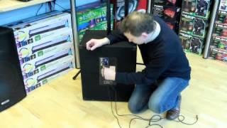 QTX Sound QT15SA Active Subwoofer - Connection & Demonstration