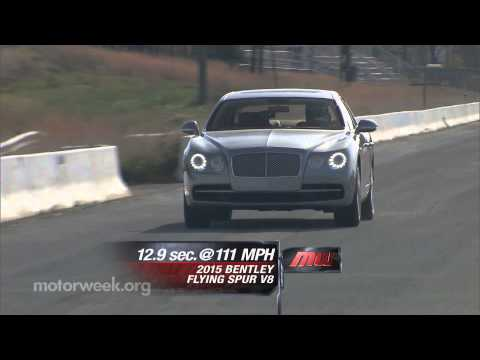 MotorWeek | Road Test: 2015 Bentley Flying Spur V8 MotorWeek  MotorWeek