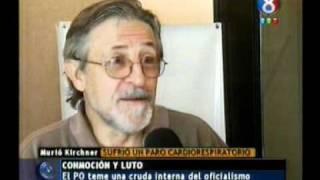 27 Octubre 2010  La Muerte De Néstor Kirchner  Daniel Blanco  Canal 8