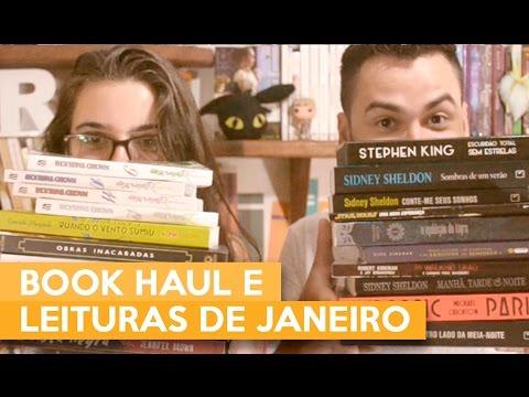 BOOK HAUL E LEITURAS DE JANEIRO | Admirável Leitor