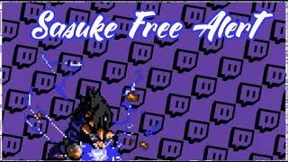 FREE TWITCH ALERTS (SASUKE) Download and Tutorial