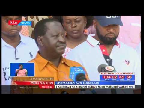 Mbiu ya KTN Taarifa Kamili na Mary Kilobi 26/3/2017