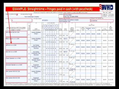 Public Works Payroll Reporting Form (A-1-131) - California