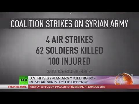 米国の航空機は、シリア軍の位置を打つ、〜62 SAAの兵士を殺す[REPORTS]