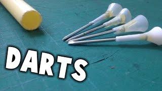 How to Make Darts for a Blowgun/Airgun