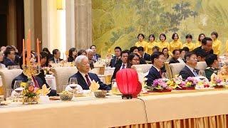 Tổng Bí thư Nguyễn Phú Trọng hội kiến Chủ tịch Chính hiệp Trung Quốc