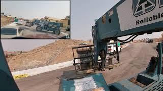 4 Camera Pseudo 4k Gradall Forklift