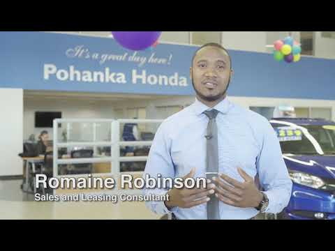 Sales and Leasing Consultant Romaine Robinson
