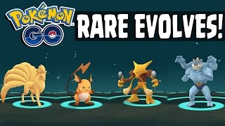 Raichu  - (Pokémon) - Pokemon GO | RARE POKEMON EVOLVING SPREE - Alakazam, Raichu, Machop, Ninetails & More!