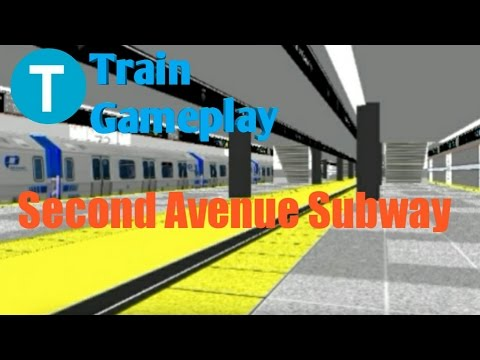 Hmmsim 2 NYC Transit | C local train Gameplay - смотреть
