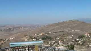 preview picture of video 'قرى الجنوب اللبناني من الجهه الاسرائيليه נוף מרהיב ממצפה משגב עם Observation to South Lebanon hd'