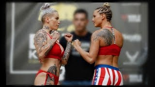 Awesome Women's Fight! BKFC 2: Bec Rawlings vs. Britain Hart