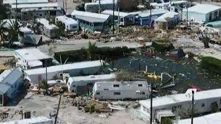 Drone footage reveals staggering damage in Florida Keys   Kholo.pk