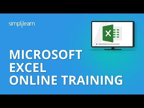 Microsoft Excel Online Training | Microsoft Excel Video Tutorial | MS ...