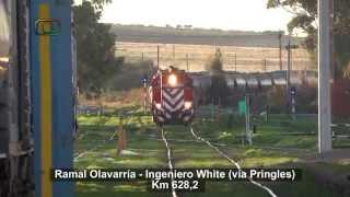 preview picture of video 'Tren de FEPSA con destino a White pasando tranqui por Grünbein'