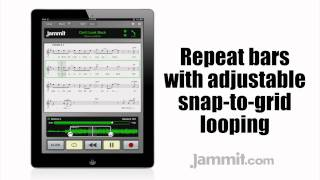 "Jammit ipad iphone app Steve Lukather Video Can't Look Back ""learn to sing"""