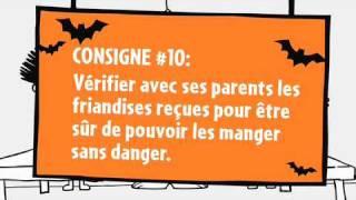 Les consignes de sécurité pour l'Halloween-Épisode 10