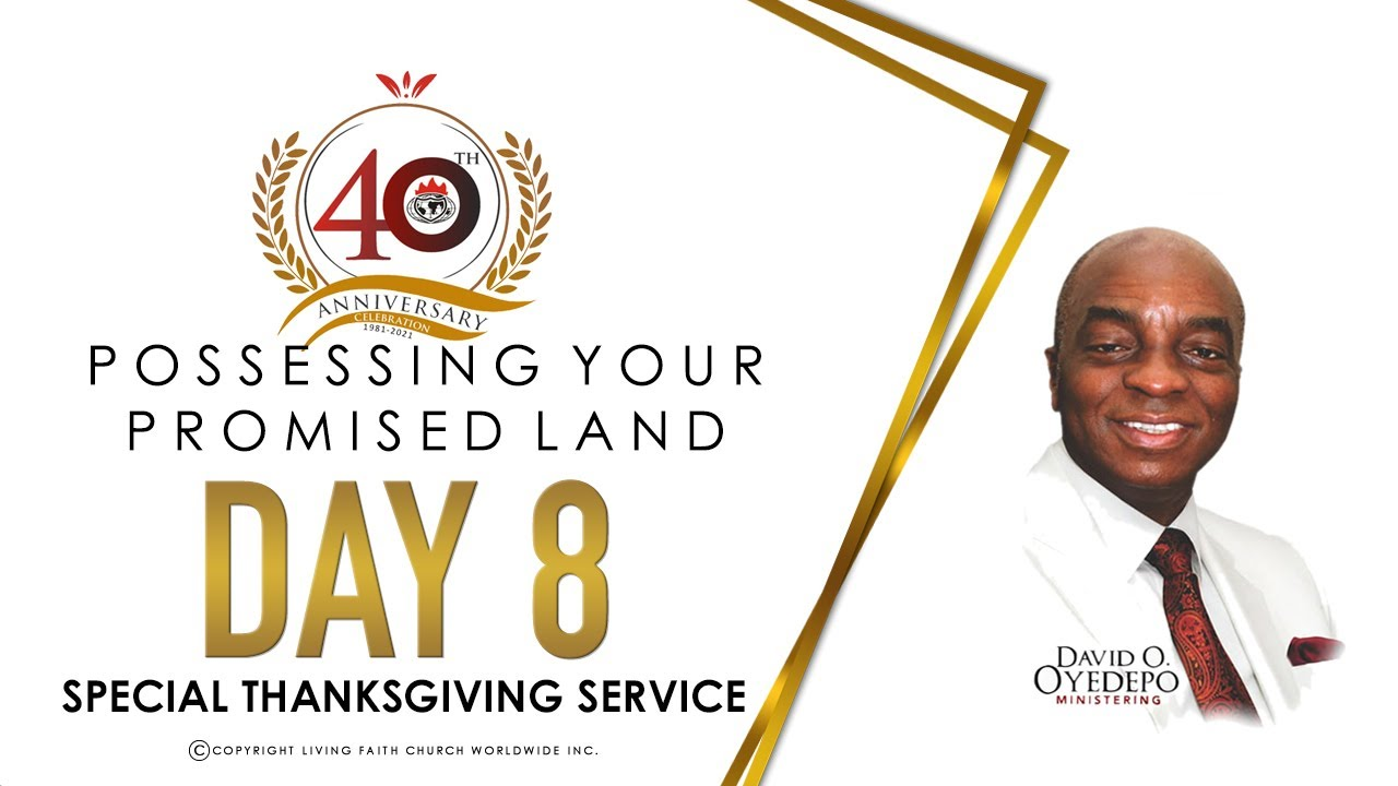 Winners' Chapel 40th Anniversary 9 May 2021 with David Oyedepo