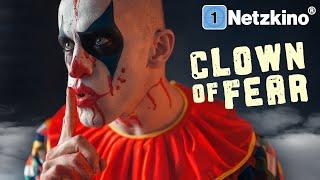 Clown of Fear (HORROR ganzer Film Deutsch, Horrorfilme in voller Länge anschauen, gruselige Filme)
