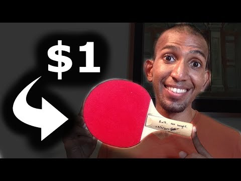 $1 Ping Pong Racket Transformed | DIY AAE