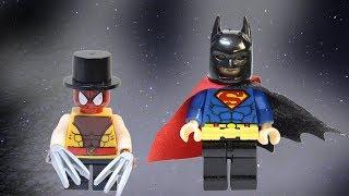 КАК СОЗДАТЬ НОВОГО СУПЕРГЕРОЯ? Вечерний Джокер Бэтмен, Человек паук, Супермен. Лего мультики 2018
