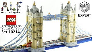 Lego Creator 10214 Tower Bridge - Lego Speed Build