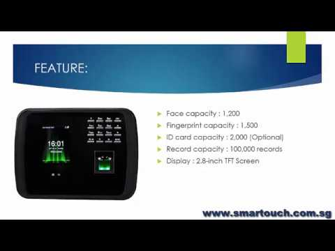 Biometric Face Recognition Machine MB460 Overview integrated with BCA EPSS BAS System