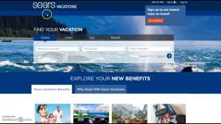 Sign Up for Sears Vacations Free Membership