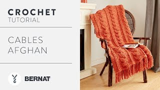 Crochet: Cables Afghan